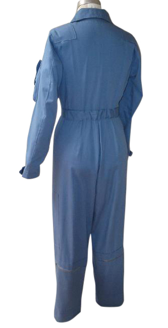 flight suit back blue
