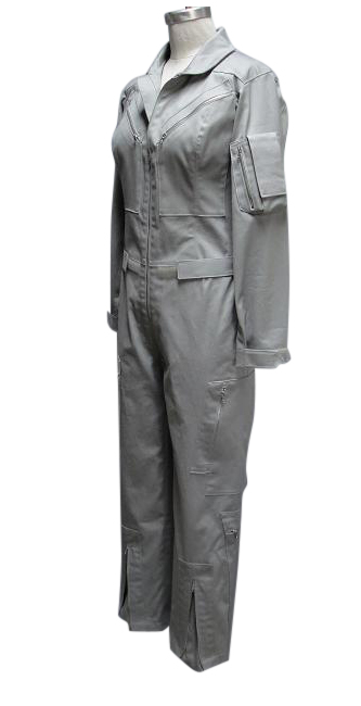 flight suit front grey